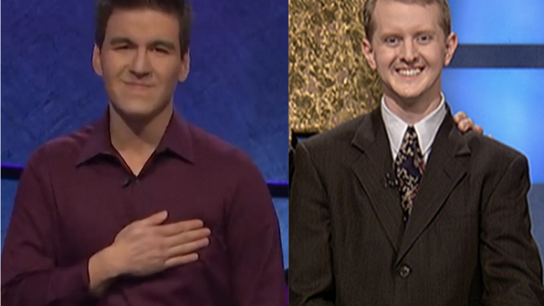 James Holzhauer and Ken Jennings