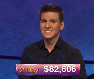 James Holzhauer, today's Jeopardy! winner (for the April 5, 2019 game.)