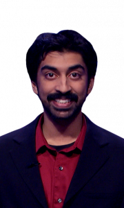 Satish Chandrasekhar on Jeopardy!