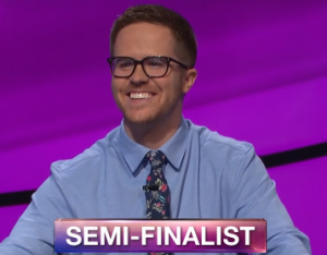 Conor Quinn, today's Jeopardy! winner (for the May 9, 2019 game.)