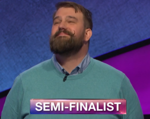 Joe Rengstorf, today's Jeopardy! winner (for the August 12, 2019 game.)