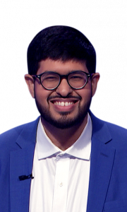 Faizan Kothari on Jeopardy!