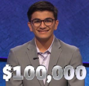 Avi Gupta, today's Jeopardy! winner (for the June 28, 2019 game.)