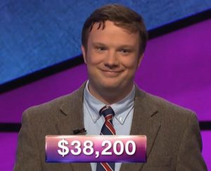 Brendan Roach, today's Jeopardy! winner (for the June 6, 2019 game.)