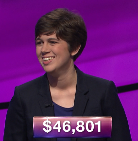 Emma Boettcher, today's Jeopardy! winner (for the July 2, 2020 game.)