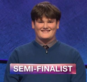 Jackson Jones, today's Jeopardy! winner (for the June 20, 2019 game.)