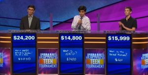 Today's Final Jeopardy! scores after the June 27, 2019 game.)