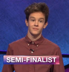 Justin Bolsen, today's Jeopardy! winner (for the June 19, 2019 game.)