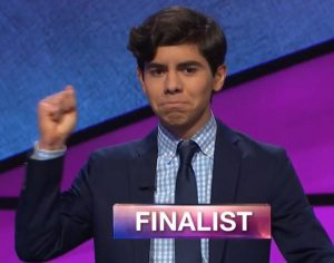 Lucas Miner, today's Jeopardy! winner (for the June 24, 2019 game.)