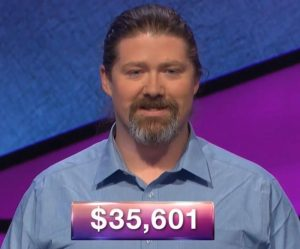 Martin Kane, today's Jeopardy! winner (for the June 10, 2019 game.)