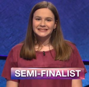 Teagan O'Sullivan, today's Jeopardy! winner (for the June 17, 2019 game.)