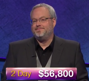 Charlie Jorgenson, today's Jeopardy! winner (for the July 3, 2019 game.)