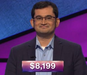 Josh Levit, today's Jeopardy! winner (for the July 1, 2019 game.)