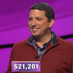 Steve Moulds, today's Jeopardy! winner (for the October 28, 2019 game.)
