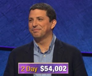 Steve Moulds, today's Jeopardy! winner (for the October 29, 2019 game.)