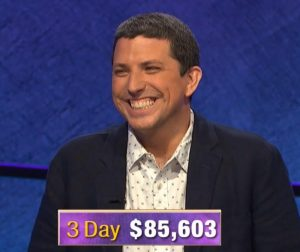 Steve Moulds, today's Jeopardy! winner (for the October 30, 2019 game.)