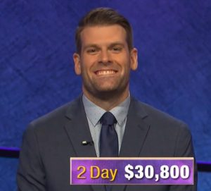 Andrew Thomson, today's Jeopardy! winner (for the November 1, 2019 game.)