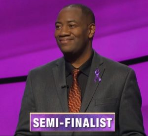 Gilbert Collins, today's Jeopardy! winner (for the November 4, 2019 game.)
