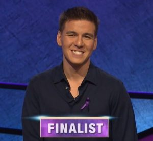 James Holzhauer, today's Jeopardy! winner (for the November 12, 2019 game.)