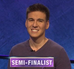 James Holzhauer, today's Jeopardy! winner (for the November 6, 2019 game.)
