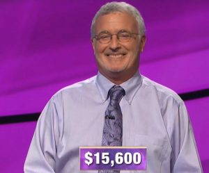 Kevin Jones, today's Jeopardy! winner (for the November 18, 2019 game.)