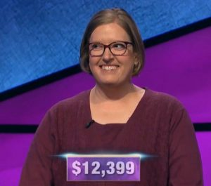 Stephanie Sumulong, today's Jeopardy! winner (for the December 3, 2019 game.)