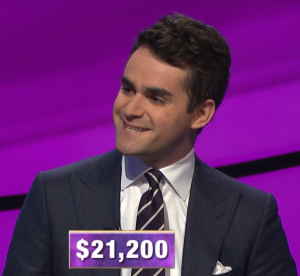 Adam Smith, today's Jeopardy! winner (for the March 25, 2020 game.)