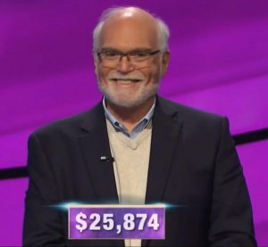 Sid Katz, today's Jeopardy! winner (for the March 16, 2020 game.)