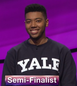 Nathaniel Miller, today's Jeopardy! winner (for the August 18, 2020 game.)