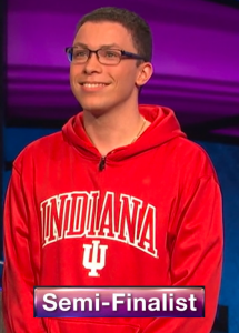 Tyler Combs, today's Jeopardy! winner (for the April 10, 2020 game.)