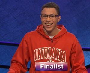 Tyler Combs, today's Jeopardy! winner (for the April 13, 2020 game.)