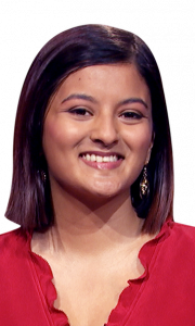 Lauren D'Souza on Jeopardy!
