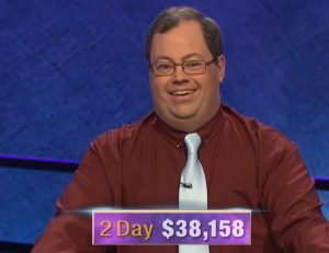 Ben Scripps, today's Jeopardy! winner (for the September 1, 2020 game.)