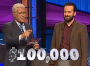 Ben Henri, today's Jeopardy! winner (for the June 5, 2020 game.)