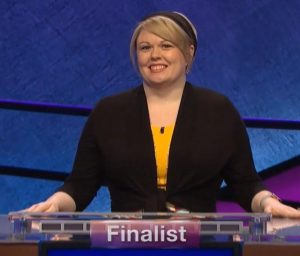 Meggie Kwait, today's Jeopardy! winner (for the June 2, 2020 game.)