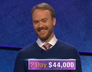 Morgan Wilbanks, today's Jeopardy! winner (for the September 7, 2020 game.)