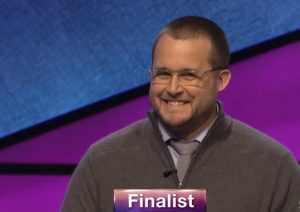 Will Satterwhite, today's Jeopardy! winner (for the June 1, 2020 game.)