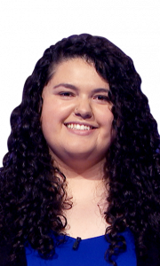 Sara Tayyar on Jeopardy!