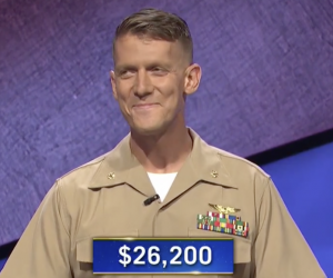 John Bussard, today's Jeopardy! winner (for the November 13, 2020 game.)