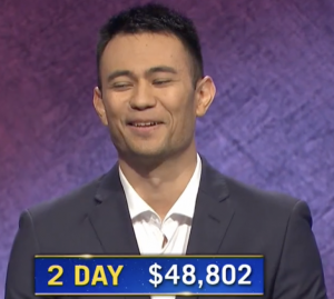 Ryan Hemmel, today's Jeopardy! winner (for the November 26, 2020 game.)
