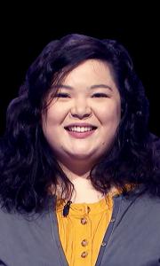 Amanda Minafo on Jeopardy!