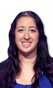 Daniella Regencia on Jeopardy!