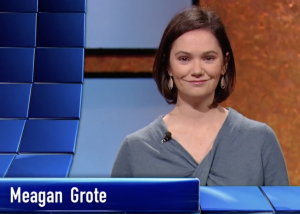 Meagan Grote on Jeopardy!
