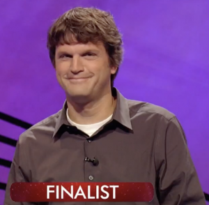 Tom Nissley, today's Jeopardy! winner (for the December 30, 2020 game.)