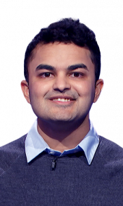 Tanay Kothari on Jeopardy!