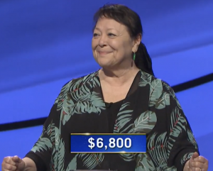 Yoshie Hill, today's Jeopardy! winner (for the January 6, 2021 game.)