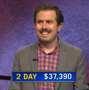 Phil Hoffman, today's Jeopardy! winner (for the February 16, 2021 game.)