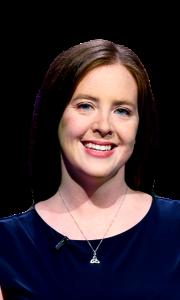Karen Farrell on Jeopardy!