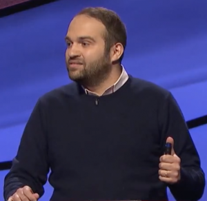 Kevin Hirsh on Jeopardy!