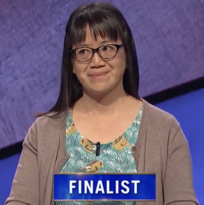 Veronica Vichit-Vadakan, today's Jeopardy! winner (for the September 7, 2021 game.)